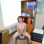 Striptease In the office