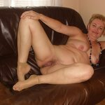 Wife spread her legs wide