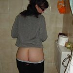 Ex-girlfriend naked in stockings, pic 19