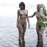 Bachelorette party naked in nature, pic 28