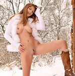 Girls on the snow, pic 15