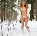 Girls on the snow, pic 18