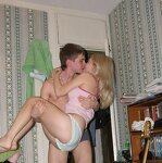 Homemade Russian blonde sex, pic 24