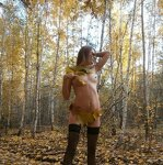 Erotica in the autumn forest, pic 10