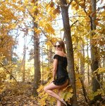 Erotica in the autumn forest, pic 17