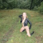 Erotica in the autumn forest, pic 20