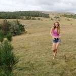 Naked Dasha in the Crimean nature, pic 1