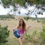 Naked Dasha in the Crimean nature, pic 5