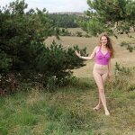 Naked Dasha in the Crimean nature, pic 11
