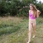Naked Dasha in the Crimean nature, pic 12