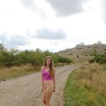 Naked Dasha in the Crimean nature, pic 14