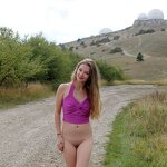 Naked Dasha in the Crimean nature, pic 15