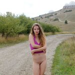 Naked Dasha in the Crimean nature, pic 16