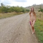 Naked Dasha in the Crimean nature, pic 18