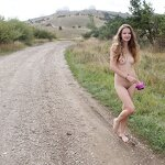 Naked Dasha in the Crimean nature, pic 19