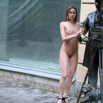 Naked Iran naughty on the street, pic 4