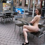 Naked Iran naughty on the street, pic 9