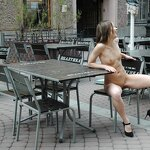 Naked Iran naughty on the street, pic 18