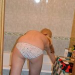 Naked wife at home and in a hotel, pic 14