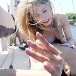 Naked girls on a yacht, pic 24