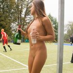 Naked football fans, pic 8