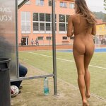 Naked football fans, pic 9