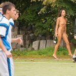 Naked football fans, pic 13