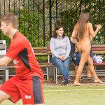 Naked football fans, pic 16