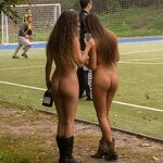 Naked football fans, pic 21