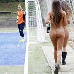 Naked football fans, pic 22
