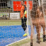 Naked football fans, pic 23