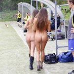 Naked football fans, pic 26