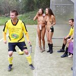 Naked football fans, pic 31