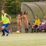 Naked football fans, pic 32