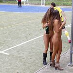 Naked football fans, pic 35