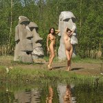 Naked girlfriends at Sestroretsk resort, pic 1
