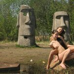 Naked girlfriends at Sestroretsk resort, pic 5