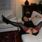Naked women in stockings, pic 22