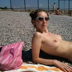 Well rested on nudistkom the beach, pic 5