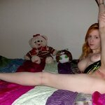 How beautiful she spreads her legs!, pic 8