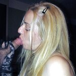 Cums on my wife's face, pic 39