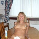 Blowjob with cream, pic 27
