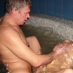 Orgy in the Russian sauna, pic 20