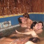 Orgy in the Russian sauna, pic 26