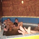 Orgy in the Russian sauna, pic 38