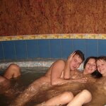Orgy in the Russian sauna, pic 40