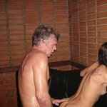 Orgy in the Russian sauna, pic 45
