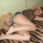Russian girl naked on the bed, pic 7