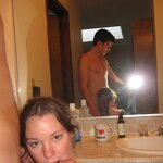 Sex at the resort with a girlfriend, pic 28