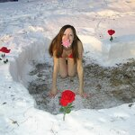 Heart in a snowdrift and sex at home, pic 2